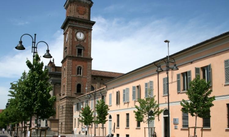 Panoramica dell'edificio comunale