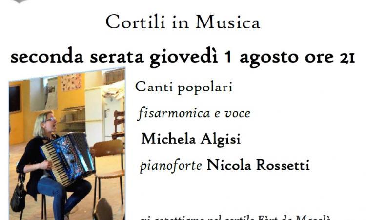 Cortili in musica Locandina