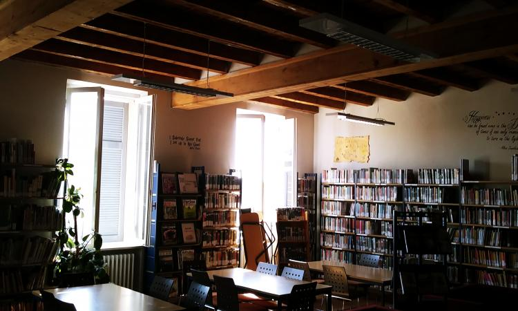 fotografia della sede della biblioteca comunale